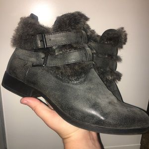 Faux Furr Ankle Booties